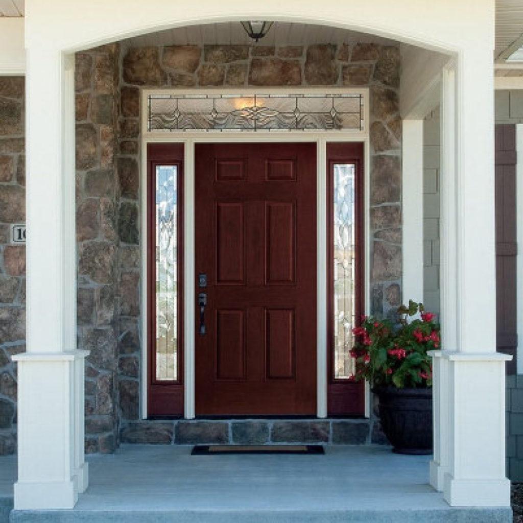 Door with Panels