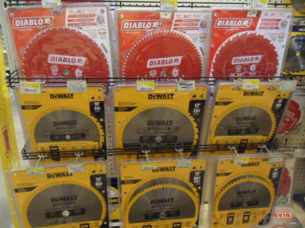 Circular Saw, Miter Saw, and Table Saw Blades