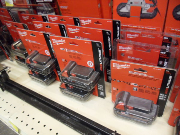 Milwaukee Tools Replacement Batteries