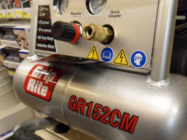 Grip Rite Air Compressor
