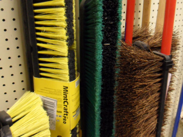 Brooms, Mops, and Brushes