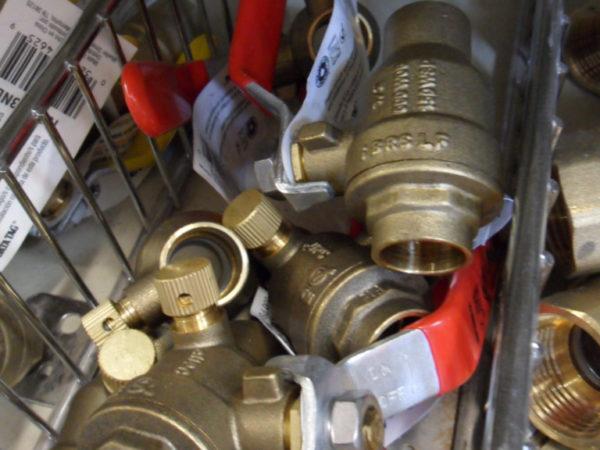 Bronze water valves