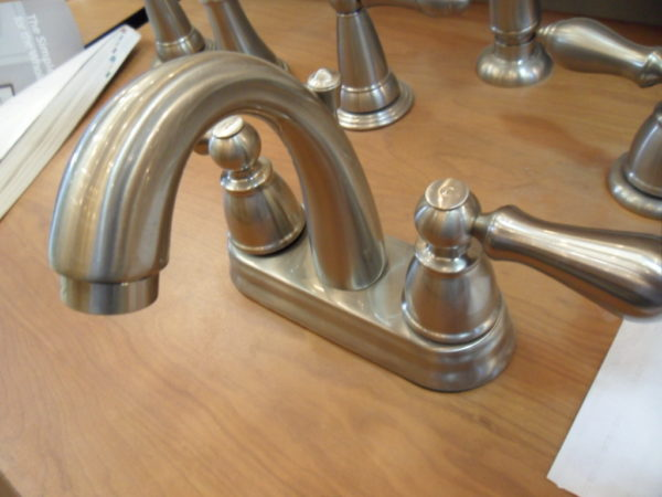Faucets in the Finish Plumbing Department at Mifflinburg Lumber