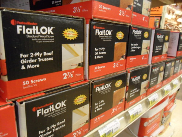 FlatLOK Structural Wood Screws
