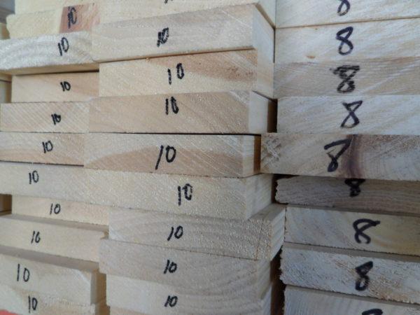 Dimensional White Pine Lumber